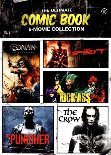 The Ultimate Comic Book 5-Movie Collection [5 Discs] [DVD] 9879041