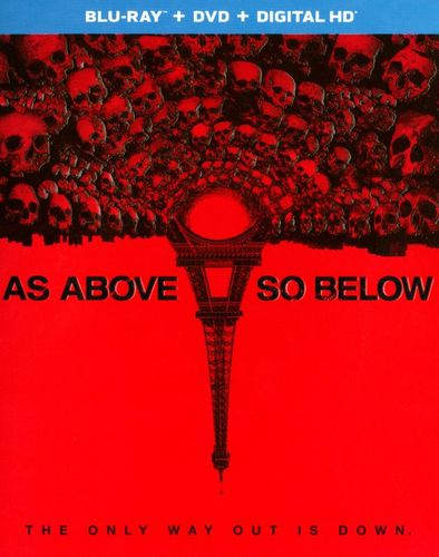As Above, So Below [2 Discs] [Includes Digital Copy] [UltraViolet] [Blu-ray/DVD] [2014] 9882117
