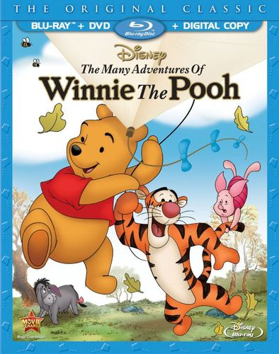 The Many Adventures of Winnie the Pooh [Blu-ray/DVD] [Includes Digital Copy] [1977] 9893384