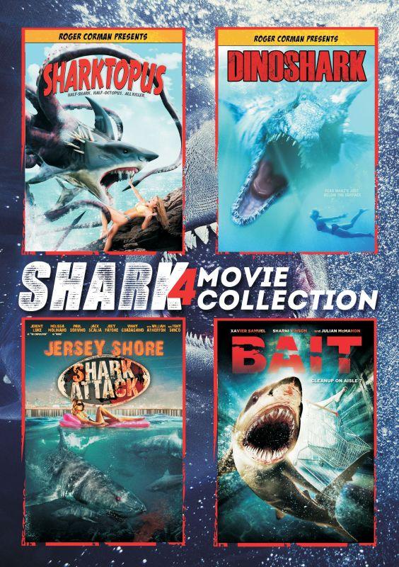 Shark 4 Movie Collection [4 Discs] [DVD] 9913216