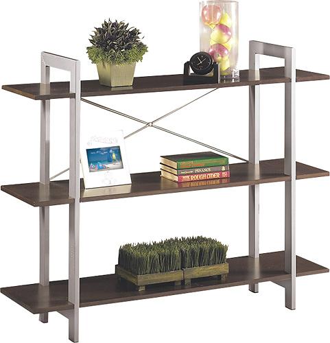 Office Star Furniture - X-Text Bookcase - Espresso