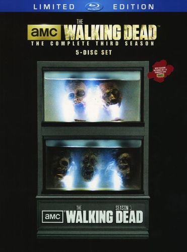 The Walking Dead: The Complete Third Season [Limited Edition] [5 Discs] [Blu-ray] 9921139