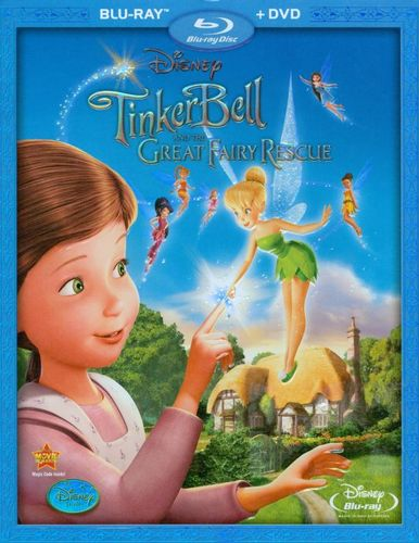 Tinker Bell and the Great Fairy Rescue [2 Discs] [Blu-ray/DVD] [2010] 9930049