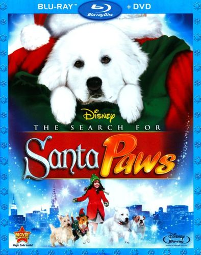 The Search for Santa Paws [2 Discs] [Blu-ray/DVD] [2010] 9930067