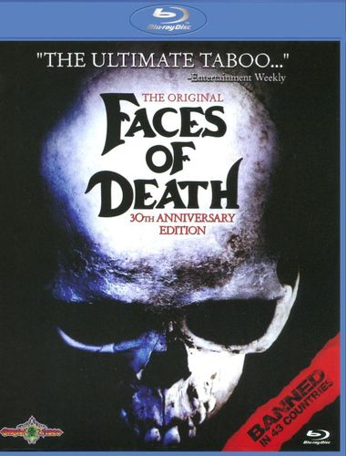 Faces of Death [Blu-ray] [30th Aniversary Edition] [1978] 9933329