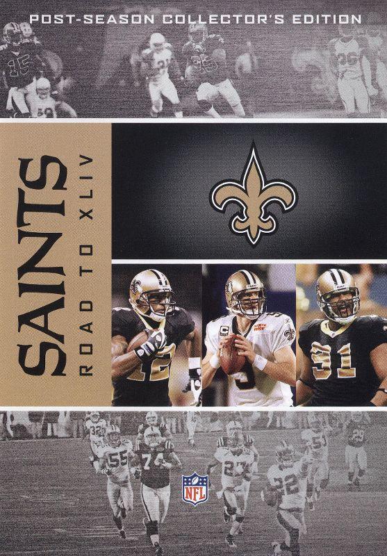 NFL: Road to Super Bowl XLIV - New Orleans Saints [4 Discs] [DVD] [2010] 9963073