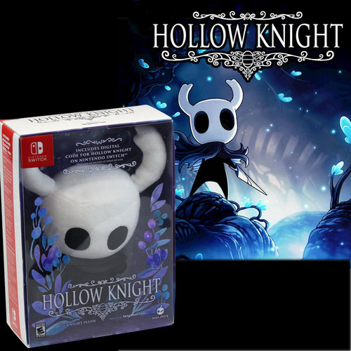 Nintendo - Hollow Knight Plush Toy and Game for Nintendo Switch Package