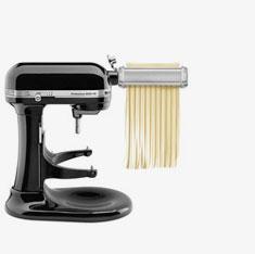 Pasta roller attachment