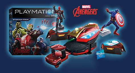 Playmation Marvel's Avengers Starter Pack, Smart Figures