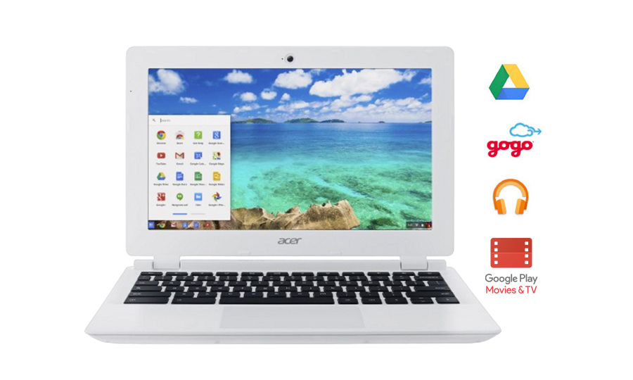 Chromebook, Google Drive, Gogo, Google Play