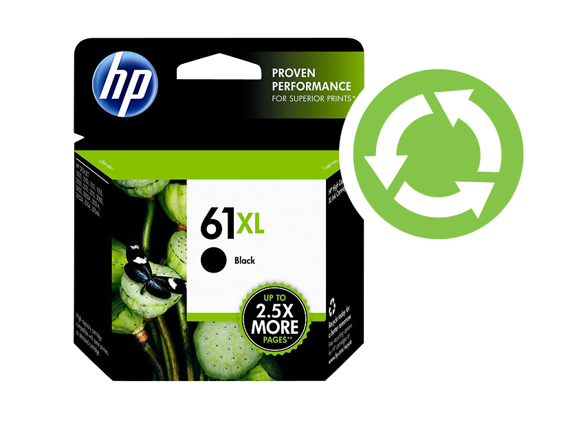 HP ink, recycling