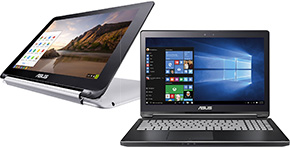 Asus, 2 in 1 laptops