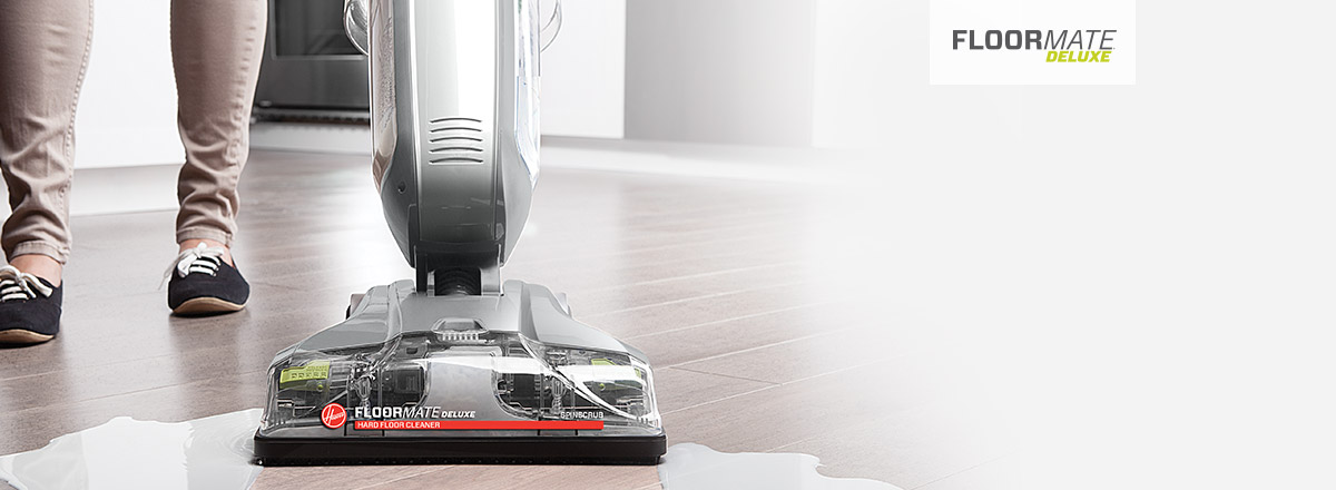 FloorMate Deluxe hard floor cleaner