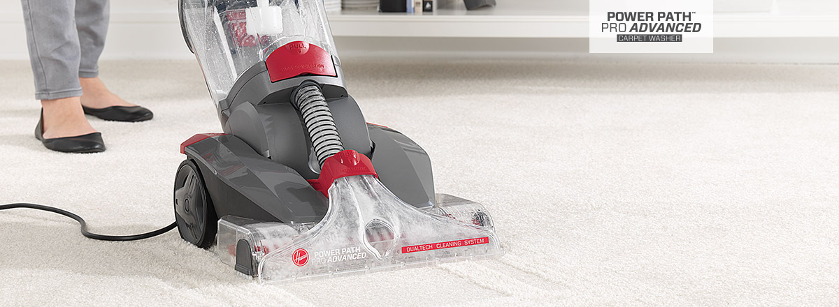Power Path Pro Advanced carpet washer