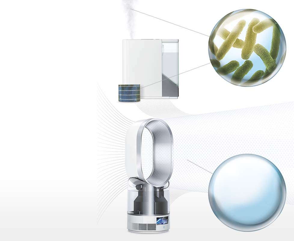 Humidifier with no bacteria