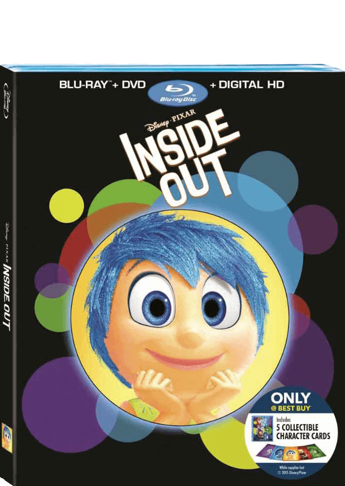 Inside Out Blu-ray/DVD