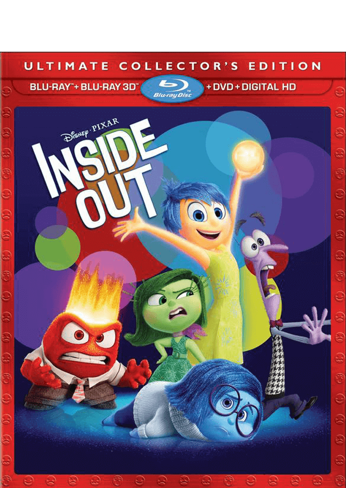 Inside Out 3D Blu-ray/DVD