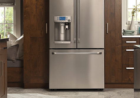 Refrigerator, GE, brewing system