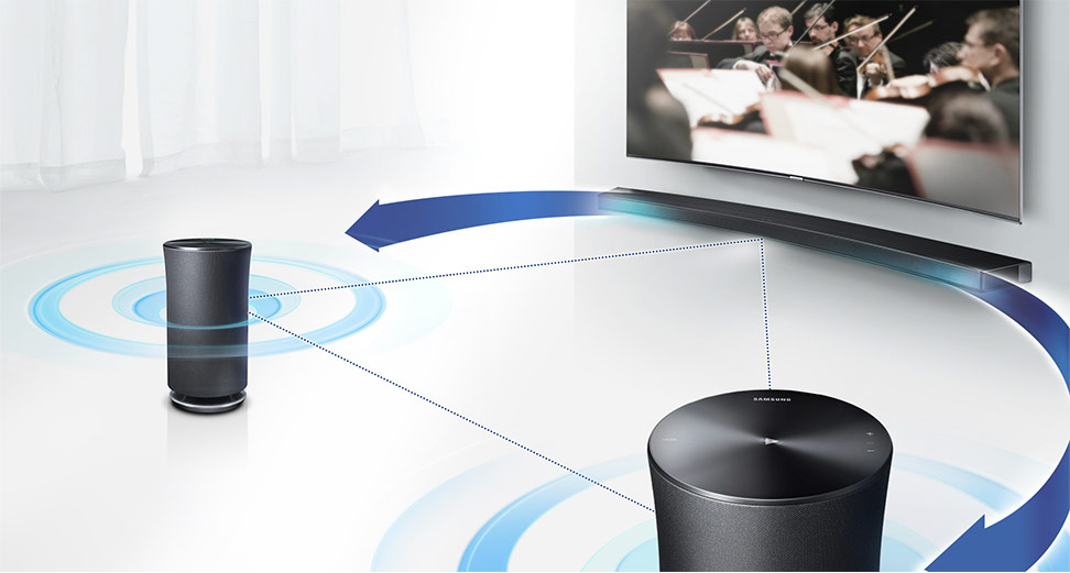 Speakers and TV