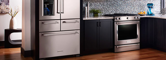 A New Era In Kitchen Design Has Arrived. The Redesigned Line Of KitchenAid  Appliances ...