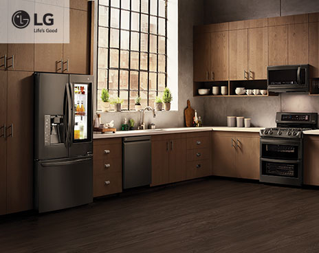 black stainless steel appliances - best buy