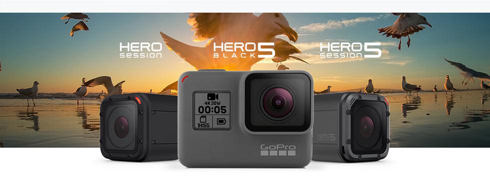 Hero Session, Hero 5 Black, Hero 5 Session, cameras
