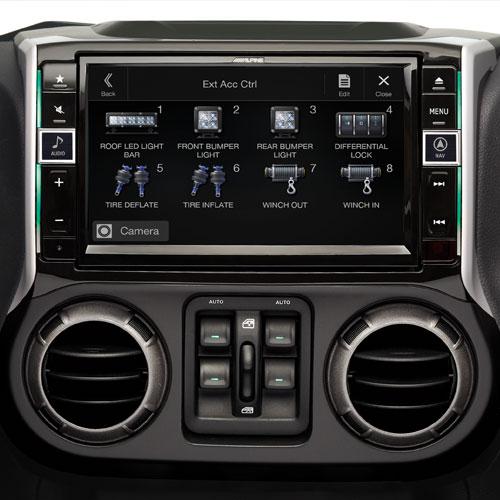 Car receiver