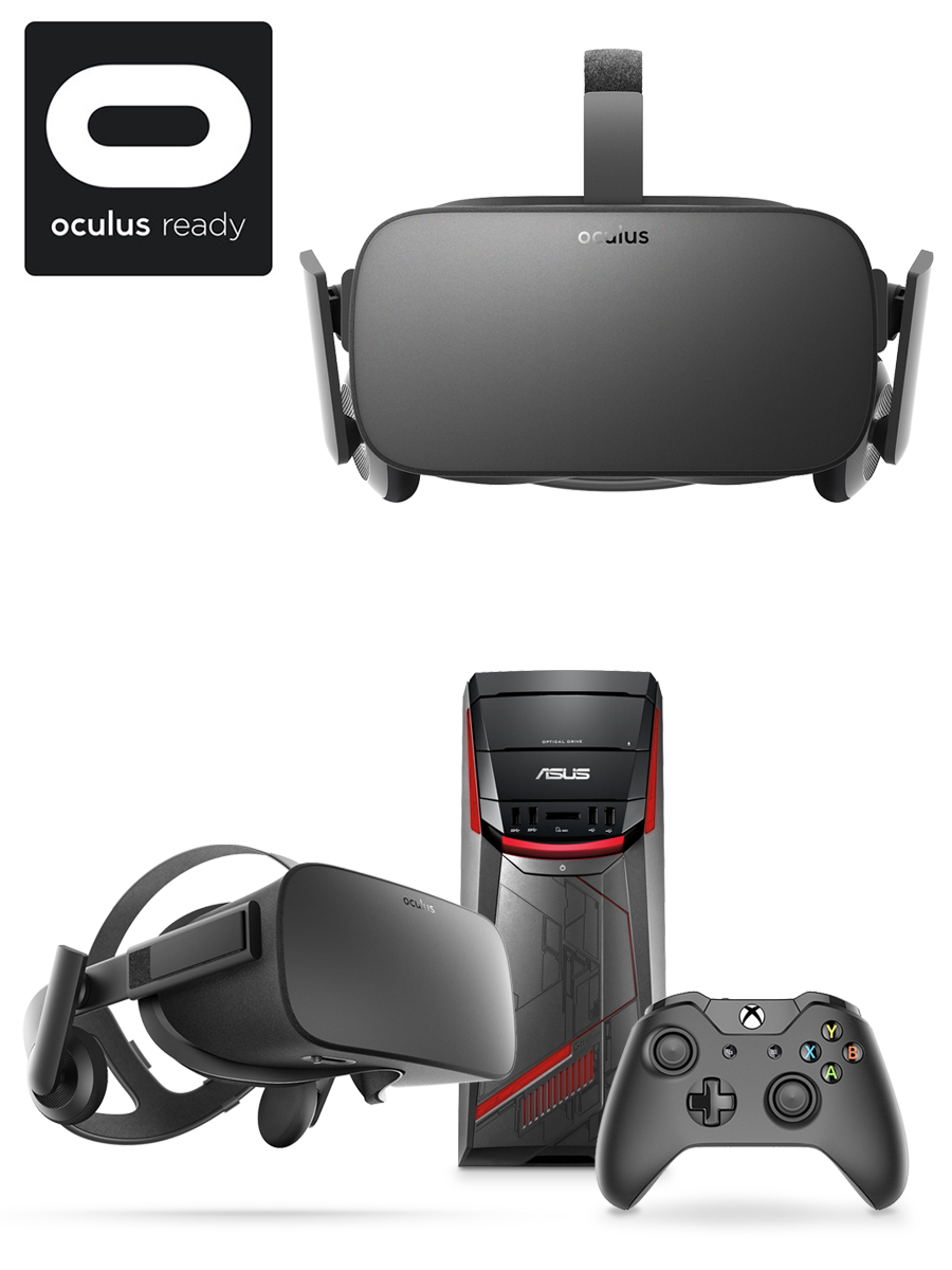 Virtual reality headset, Oculus-ready desktop