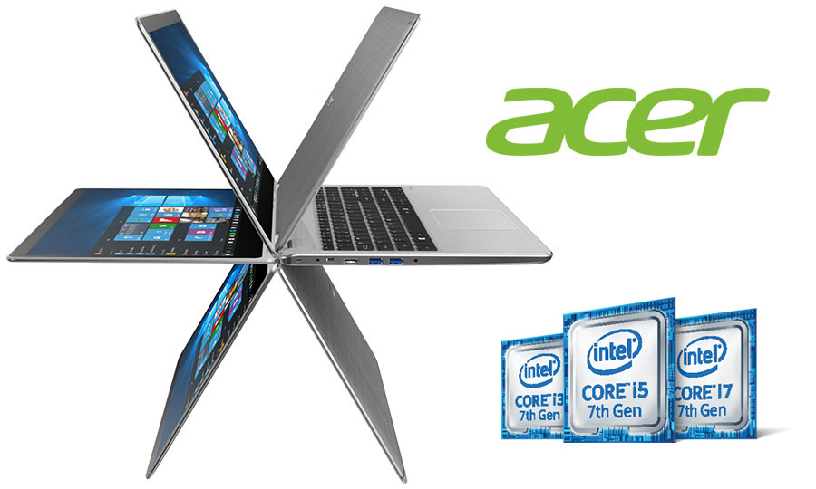 Intel processor family, Acer 2-in-1 laptop
