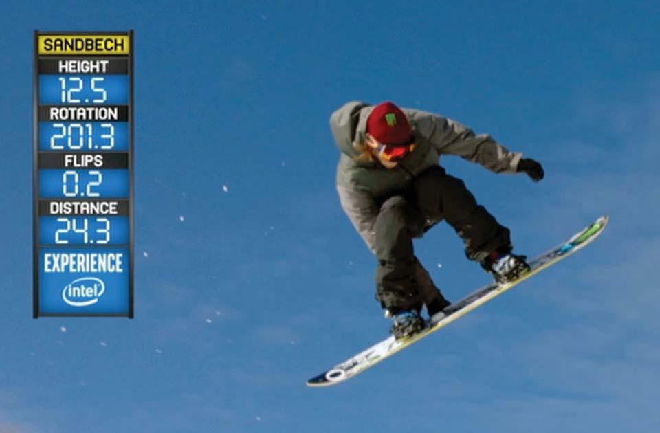 Person, snowboard