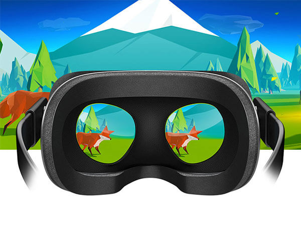 Virtual reality headset, Oculus
