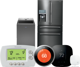 Appliances, thermostats