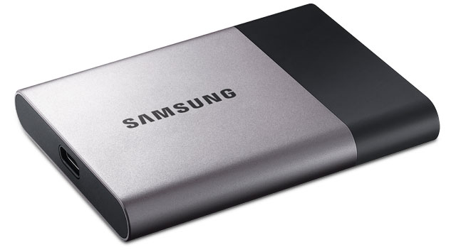 Portable T3 solid state drive, Samsung