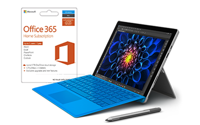 Software, tablet, keyboard, Surface Pen