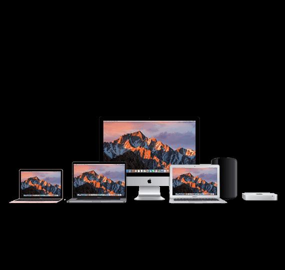 MacBook, iMac, Mac Pro, Mac mini