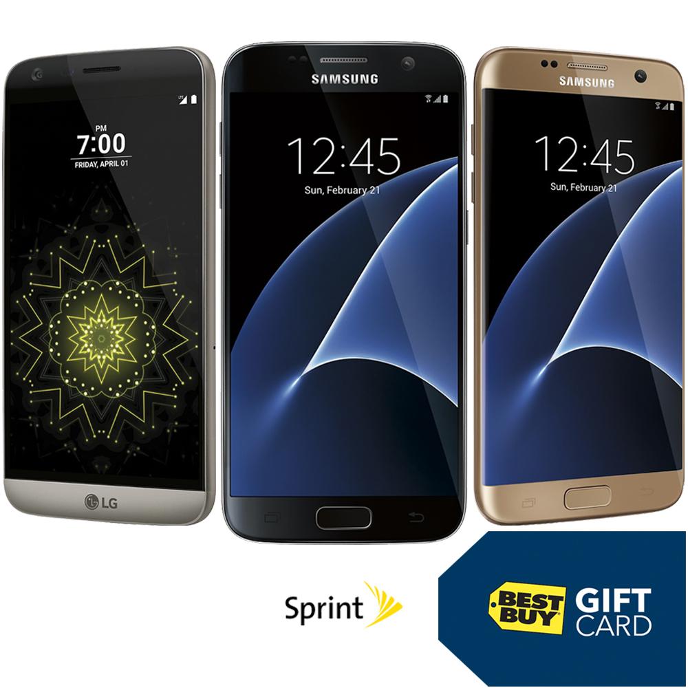 Sprint Smartphone Gift Card Offer