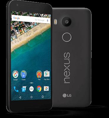Nexus 5X, cell phones