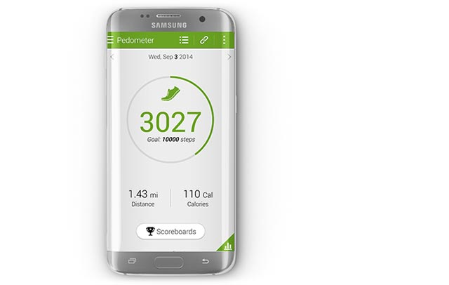 App on smartphone