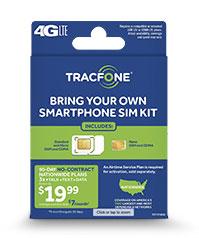 smartphone SIM kit