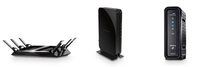 Modem, router, gateway