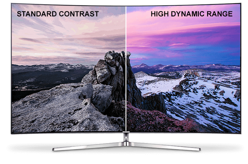 TV, High Dynamic Range, Standard Contrast