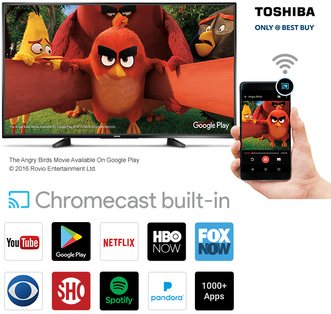 TV, smart phone, apps, YouTube, Google Play, Netflix, HBO Now, Fox Now, CBS, Showtime, Spotify, Pandora, 1000+ apps Hotel Transylvania 2, available on Google Play. 2015 Sony Pictures Animation Inc., LSC Film Corporation and MRC II Distribution Company L.P. All Rights Reserved.
