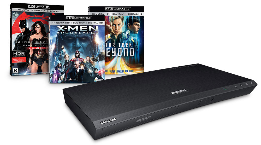 4K Ultra HD Blu-ray Players and Discs