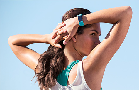 Fitness watch, fitbit chargeHR