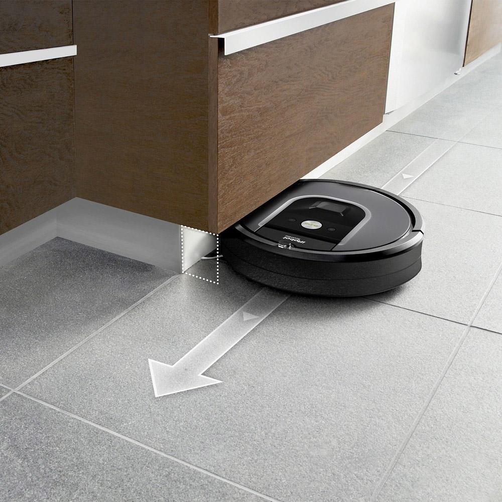 Robot vacuum under furniture