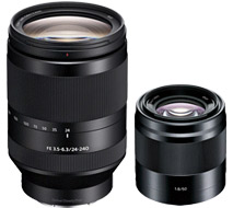 Sony lenses