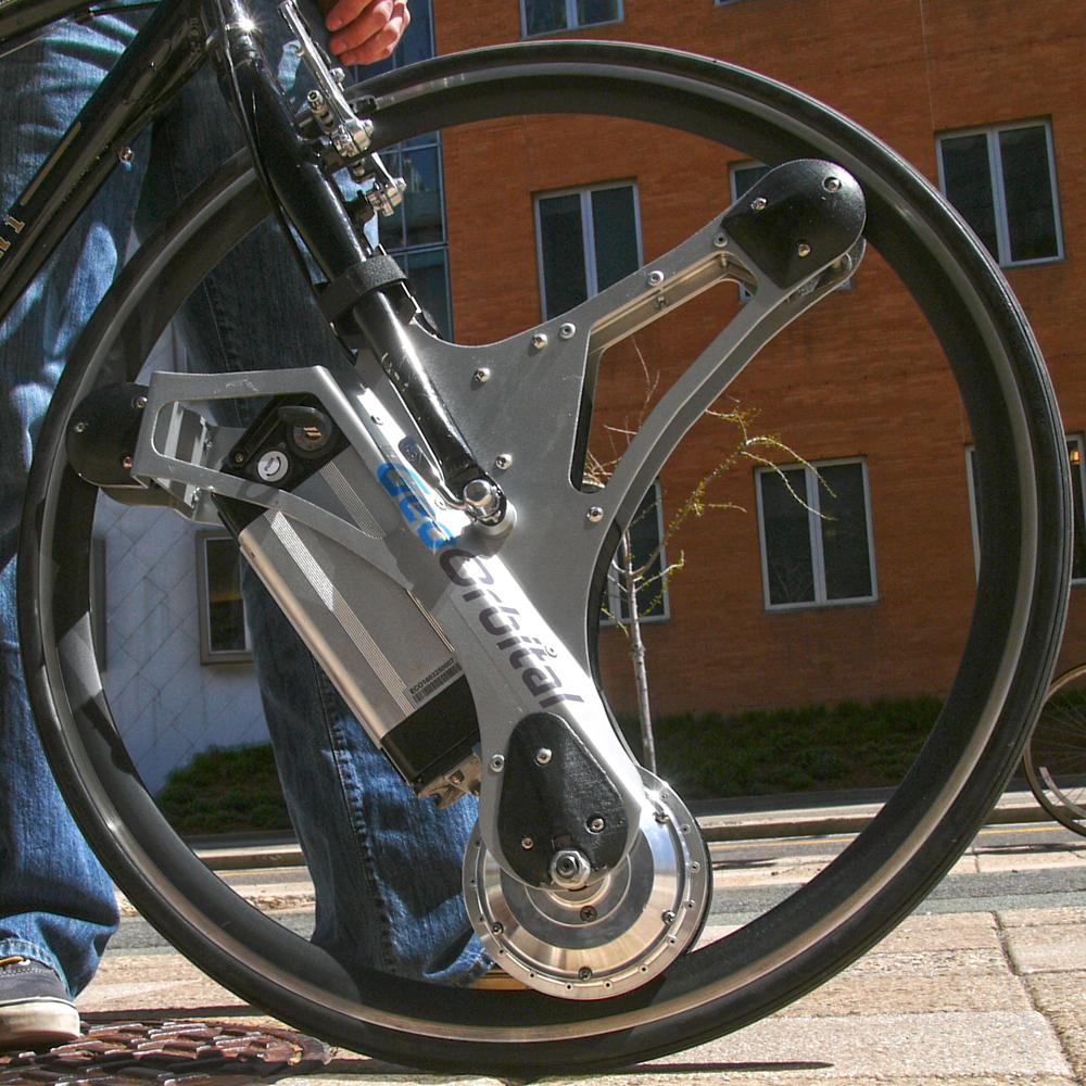 Powered bike wheel
