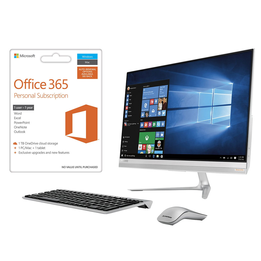 Software, all-in-one computer