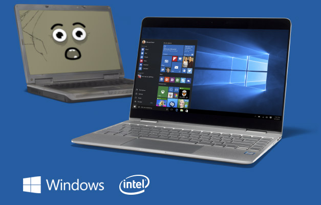 Laptops, Windows, Intel