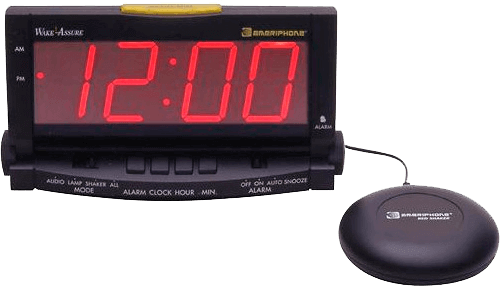 Assistive alarm clock